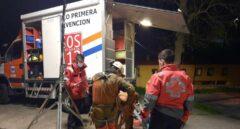 Rescatado un espeleólogo herido en una cueva de Arredondo (Cantabria)
