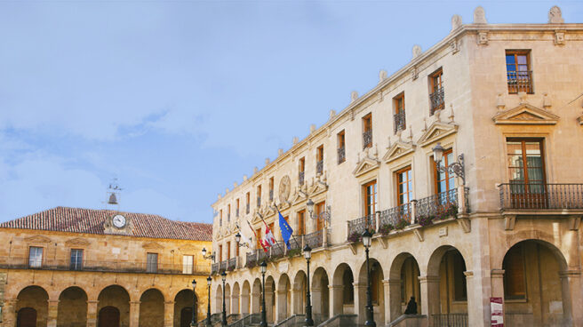 Plaza Mayor de Soria.