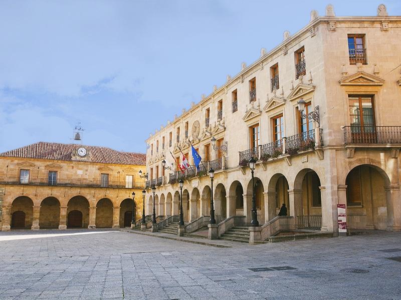 Plaza Mayor de Soria.