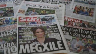"""Los tabloides abren fuego contra el """"intento de asesinato"""" a la monarquía de Meghan y Harry"""