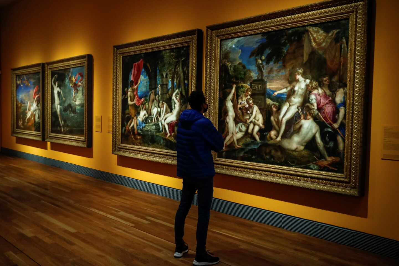 """Inauguración de la exposición """"Pasiones mitológicas"""" en el Prado"""