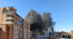 VÍDEO | Un incendio en Nou Campanar moviliza varias dotaciones de bomberos