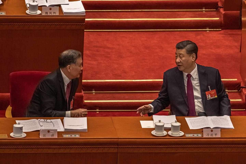 El presidente chino, Xi Jinping, en la apertura de la Asamblea Nacional Popular