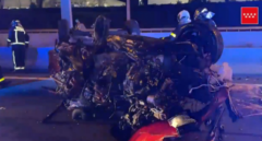 Un kamikaze provoca un accidente mortal en la A-2 a la altura de Alcalá de Henares
