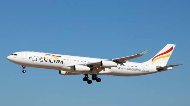 Un avión de la aerolínea venezolana Plus Ultra.