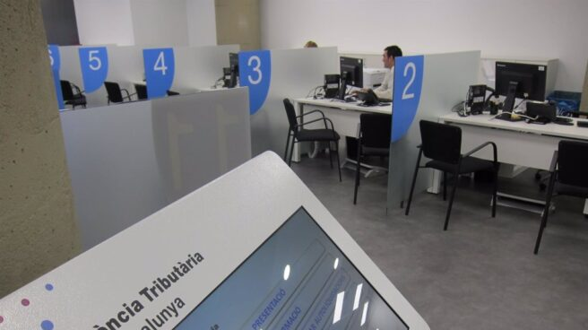 Oficina de la Agencia Tributaria de Cataluña.