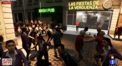 El programa de Cintora revoluciona las redes con esta animación de las fiestas en Madrid