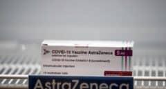 Una caja de la vacuna contra el Covid desarrollada por AstraZeneca.