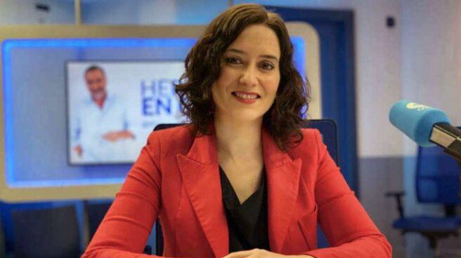 Isabel Díaz Ayuso, en 'Herrera en COPE'.