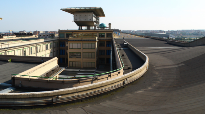 La fábrica de Lingotto: cuando Fiat probaba sus coches en una azotea