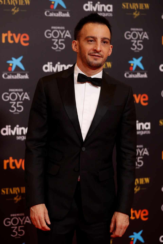 El director Alejandro Amenábar, a su llegada a la gala de la 35 edición de los Premios Goya