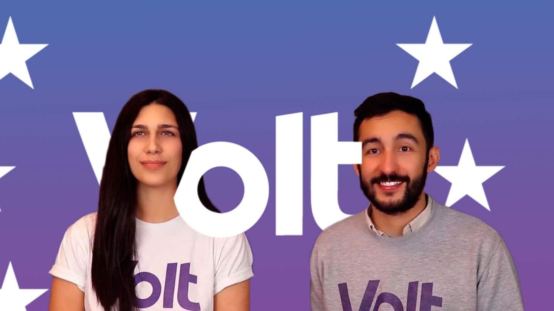 Imagen de los candidatos de España del partido panaeuropeo Volt