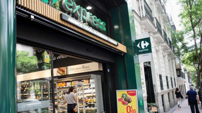 Fachada de supermercado Carrefour express
