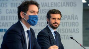 """Casado declara la guerra a Arrimadas: el PP anuncia que """"abre sus puertas"""" a todos los dirigentes de Cs"""