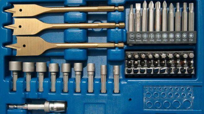 Caja de herramientas para bricolaje casero