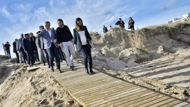 Pablo Iglesias, durante su viaje a la Comunidad Valenciana el 29 de enero de 2020.