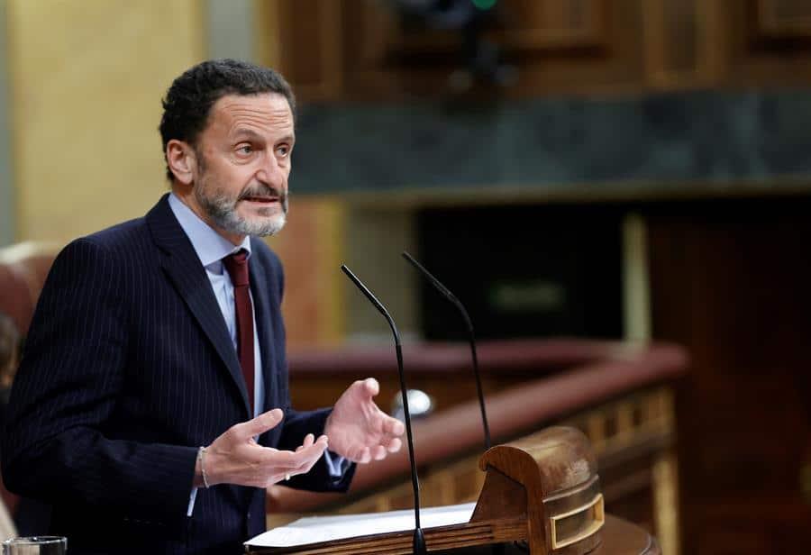 Edmundo Bal, durante una intervención en el Congreso de los Diputados.