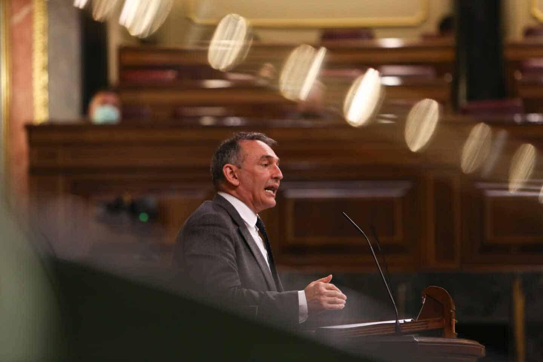 El secretario general del Partido Comunista de España, Enrique Santiago.