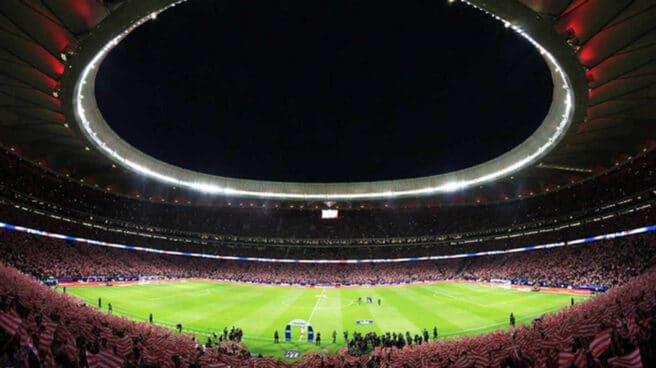El estadio del Atlético de MadridWanda Metropolitano en uno de sus primeros partidos en la historia