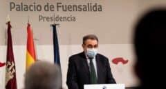 El consejero de sanidad, Jesus Fernandez Sanz.
