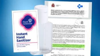 Sanidad admite que una empresa china le engañó en una compra de gel desinfectante
