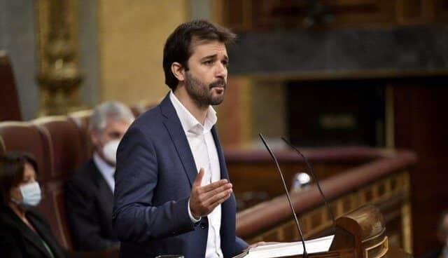 Javier Sánchez Serna, coordinador de Podemos Murcia.
