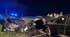 Fallece una joven de 22 años y otras 7 personas resultan heridas en un choque entre tres coches en Tineo (Asturias)