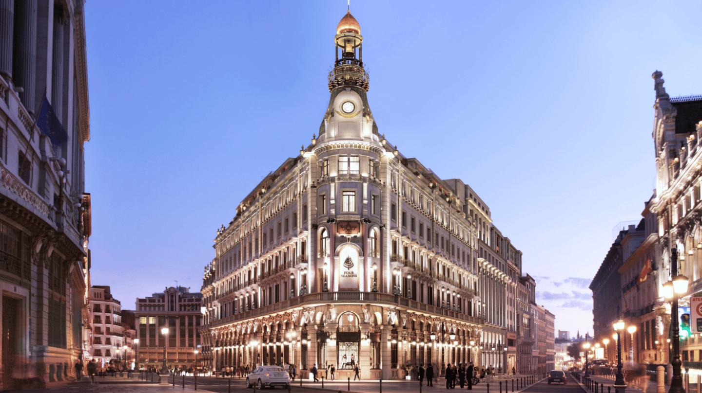 Hotel Four Seasons de Madrid, en el Centro Canalejas.
