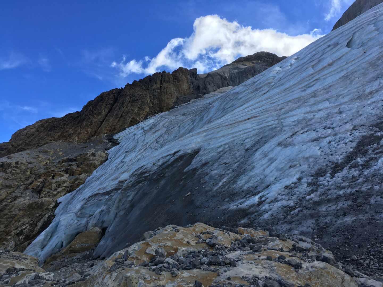 Glaciar pirenaico.