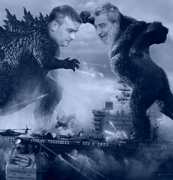 Iván Godzilla vs. Rodríguez Kong