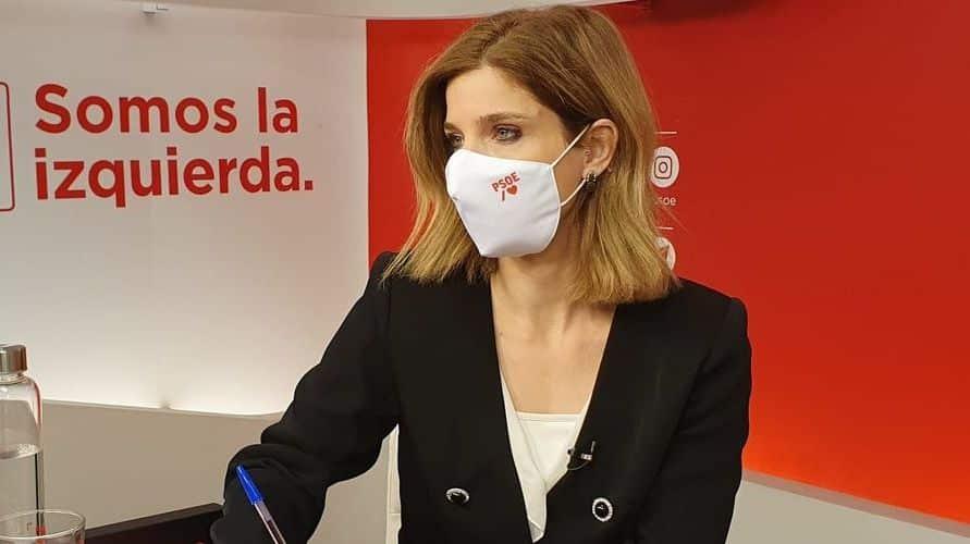 Hana Jalloul, número dos en la lista de Gabilondo para las elecciones de Madrid.