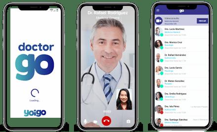 Imagen de la aplicación de DoctorGo, que ofrece servicios de salud