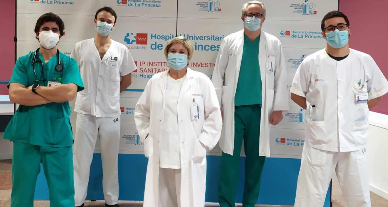 Los integrantes de la Interconsulta de Ética Clínica del Hospital de La Princesa de Madrid.
