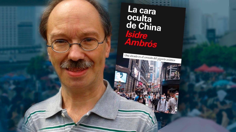 Imagen de Isidre Ambrós en su libro La cara oculta de China