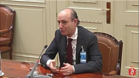 Luis Francisco de Jorge, nuevo titular del Juzgado Central de Instrucción 1 de la Audiencia Nacional.