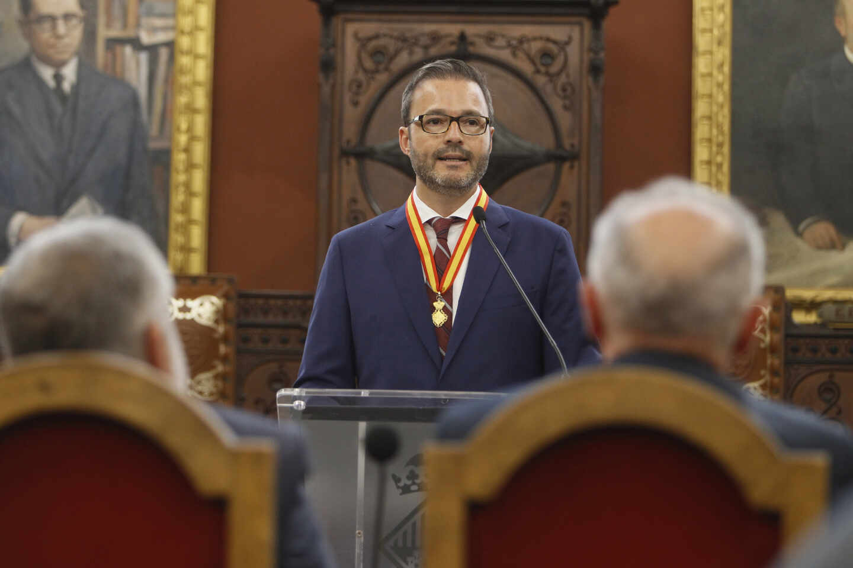 José Hila, alcalde socialista de Palma de Mallorca.