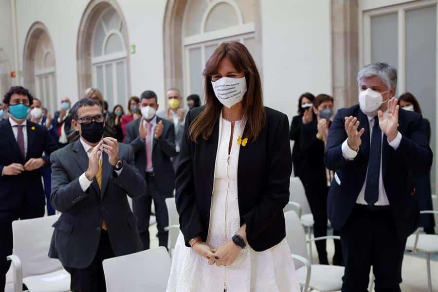 Laura Borràs, nueva presidenta del Parlament.