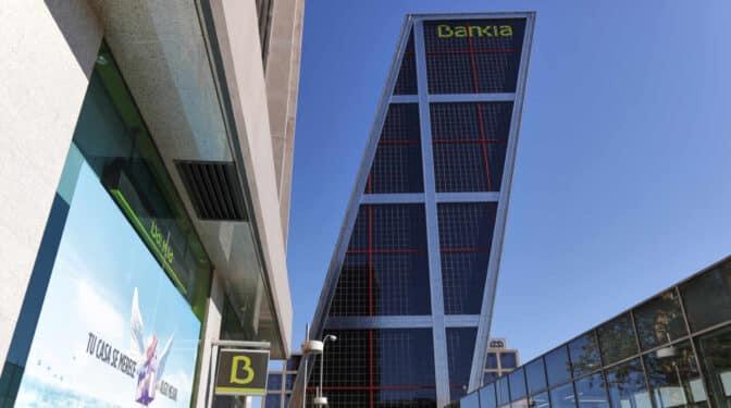 Las torres Kio se despedirán del logo de Bankia este fin de semana