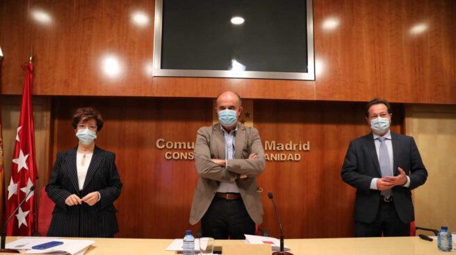 Rueda de prensa sobre la situación epidemiológica en Madrid