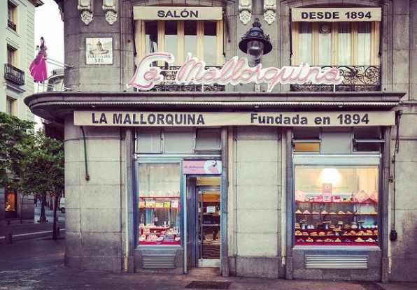 Fachada de La Mallorquina