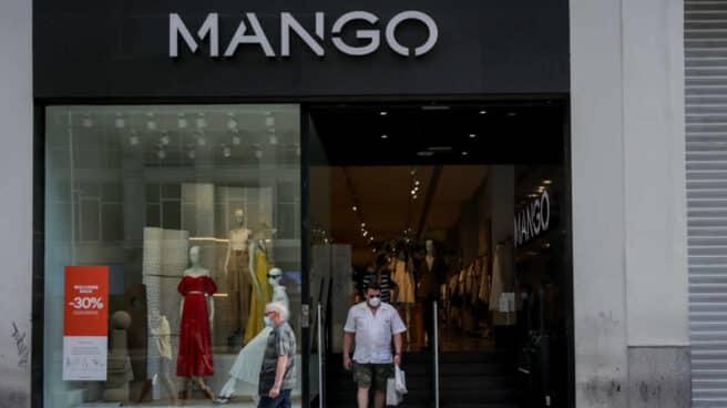 Una tienda de Mango en Madrid.