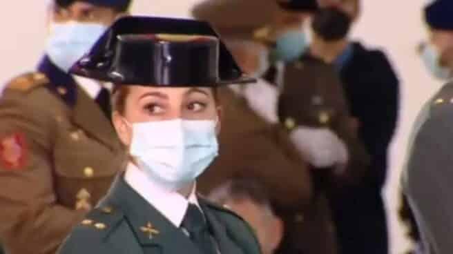 La teniente María Sol Rodríguez se ha convertido en la primera mujer que entra a formar del Grupo de Acción Rápida de la Guardia Civil