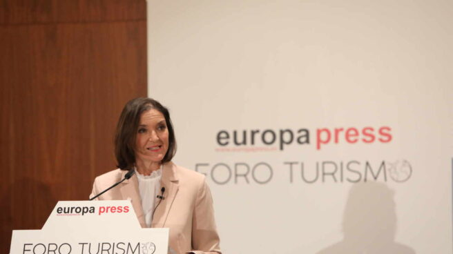La ministra de Industria, Comercio y Turismo, Reyes Maroto.