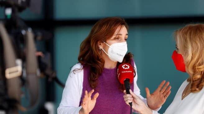 La candidata de Más Madrid, Mónica García.