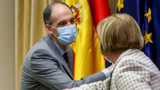 El inspector de la Policía Manuel Morocho, a su llegada a la comisión de investigación del Congreso.