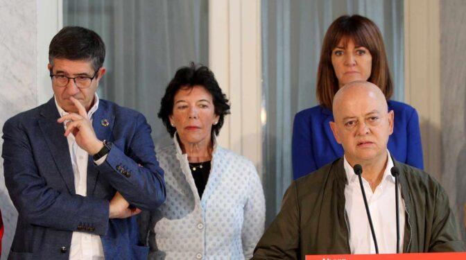 El PSOE propone que sea Odón Elorza el vocal en Transparencia a propuesta del Congreso