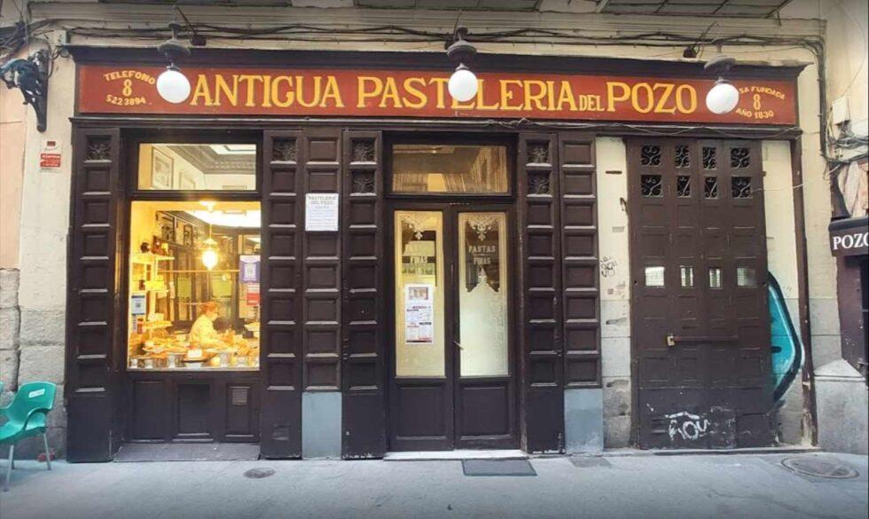 Fachada de la Antigua Pastelería del Pozo