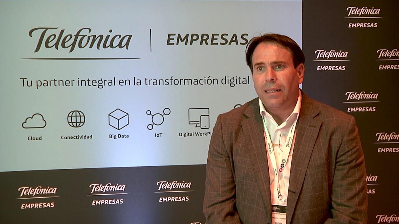 Pedro Pablo Pérez, ex CEO de Elevan Paths, división de ciberseguridad de Telefónica