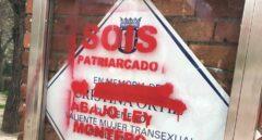 """Vandalizan la placa de La Veneno con el mensaje """"sois patriarcado, abajo Ley Montero"""""""