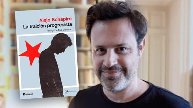 Imagen Alejo Schapire con su libro La Traición progresista